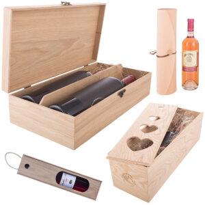 Упаковка для вина деревянная