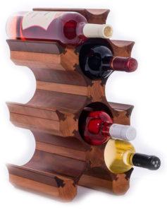 Винный стеллаж для 9 бутылок