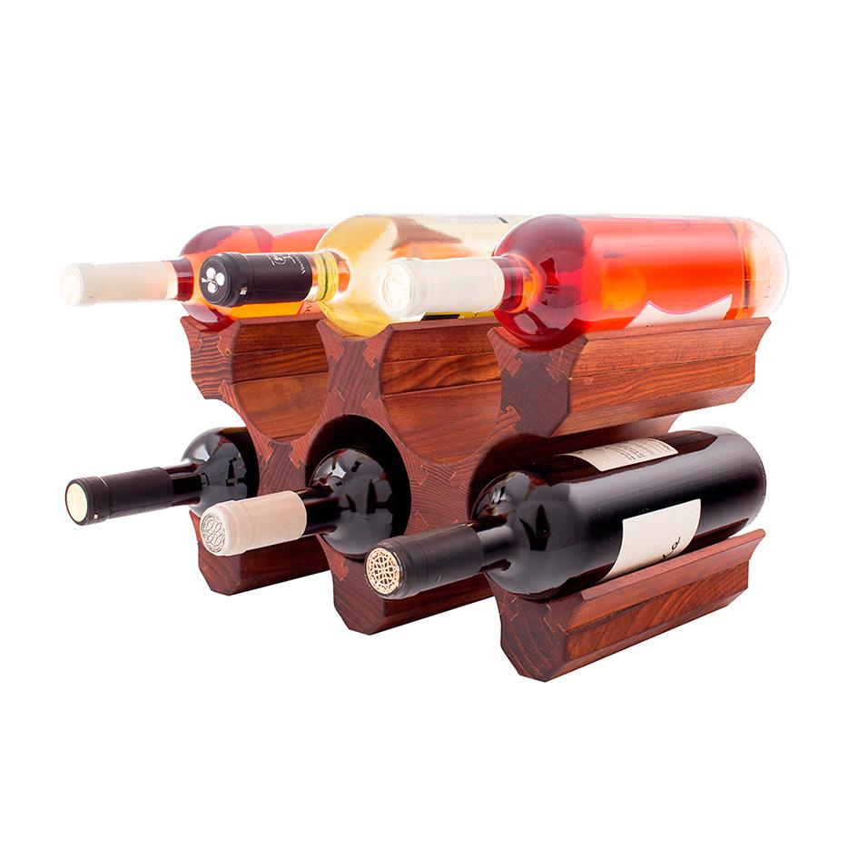 Стеллажи и подставки для бутылок вина