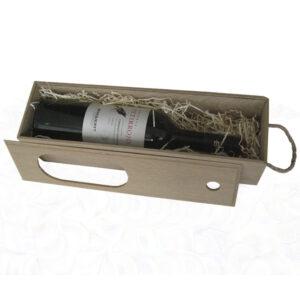 Пенал коробка на 1 бутылку вина модель 1