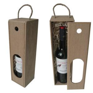 Пенал коробка на 1 бутылку вина модель 1-02