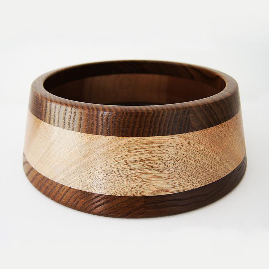 Деревянная миска декоративная купить