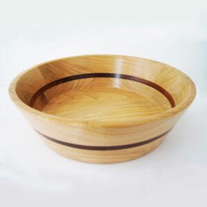 Миска для фруктов деревянная