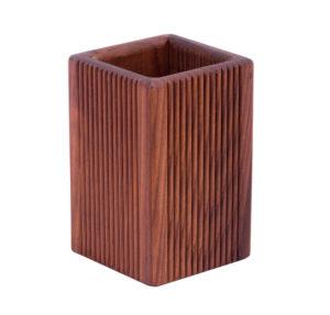 Подставка стакан деревянный