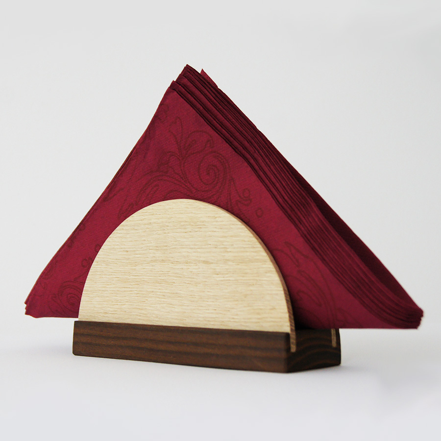 Держатель для салфеток деревянный