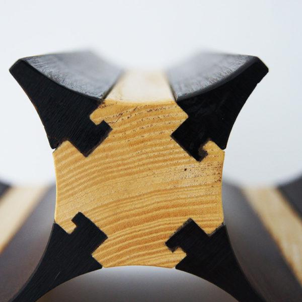Уникальная технология винных стеллажей из дерева