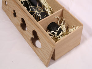оригинальный подарок ко дню влюбленных - подарочная коробка для вина Сердце