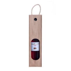 Пенал деревянный для 1 бутылки вина