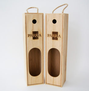 Пенал с логотипом для 1 бутылки вина заказать