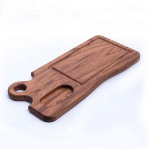 Поднос деревянный сервировочный на заказ