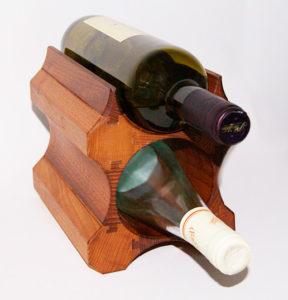 Подставка для 2 бутылок вина
