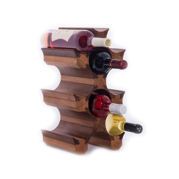 Стеллаж для бутылок вина для домашнего бара