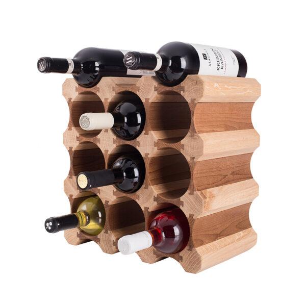 Стеллаж винный для 12 бутылок вина
