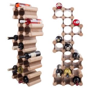 Стойка винная для 22 бутылок вина заказать