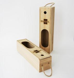 Пенал коробка с логотипом для 1 бутылки вина