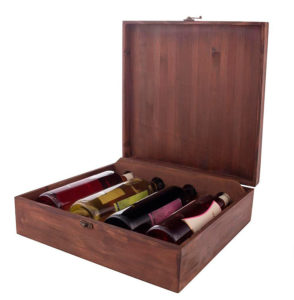 Упаковка для 4 бутылок вина