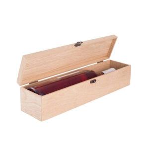 Упаковка для 1 бутылки деревянная