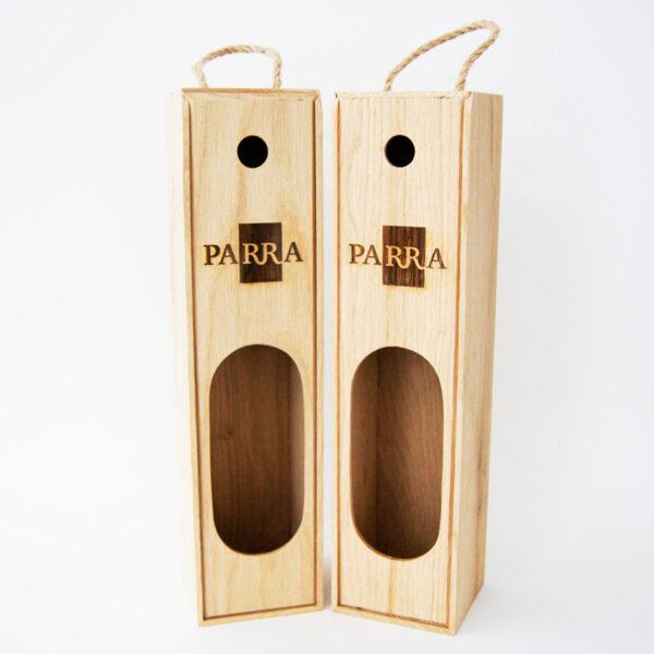 Деревянная упаковка по размерам для хранения и транспортировки бутылок вина на заказ
