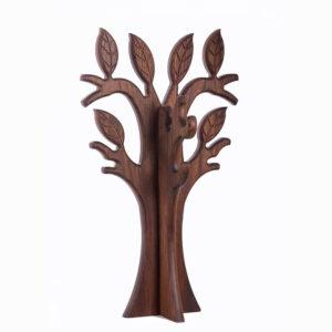 Вешалка деревянная оригинальная на заказ