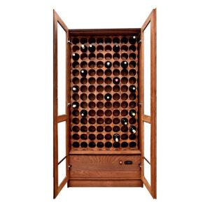 Винный шкаф деревянный на заказ