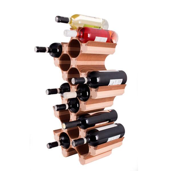Винный стеллаж стойка для 20 бутылок