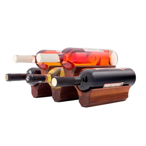 Стеллаж на 5 бутылок для домашнего бара