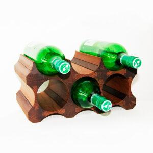 Винный стеллаж на 6 бутылок вина