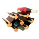 Компактный стеллаж на 7 бутылок вина