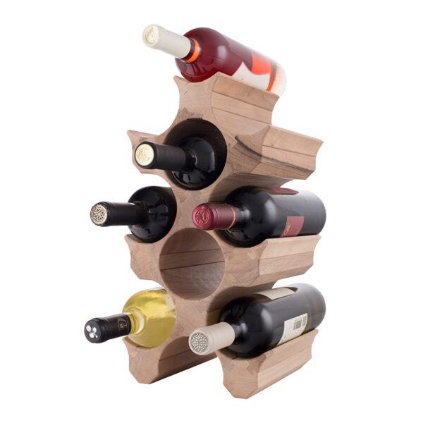 Стеллаж на 9 бутылок вина
