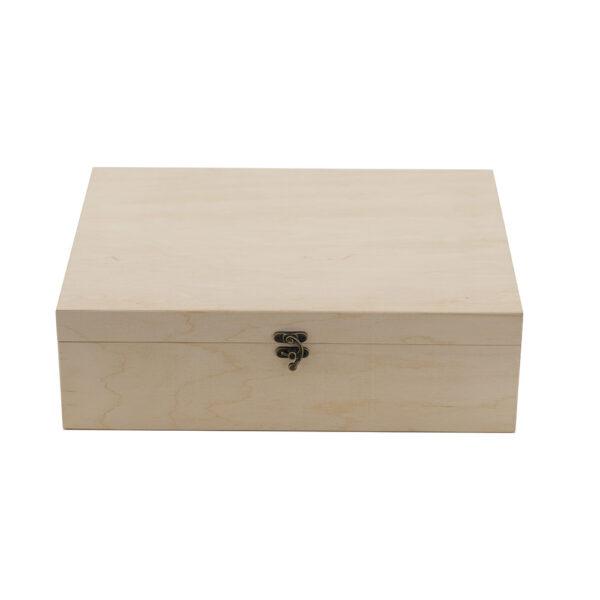 Упаковка деревянная для 3 бутылок вина