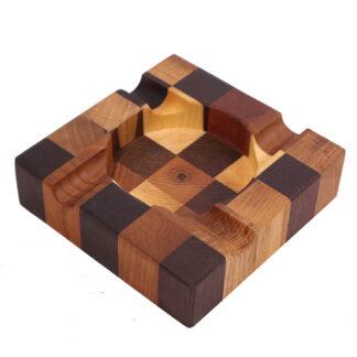 декоративная деревянная пепельница для сигар