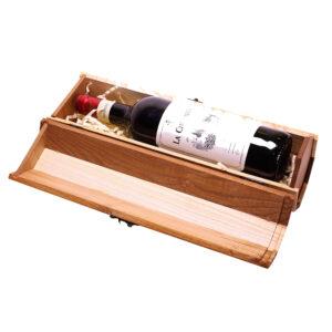 Оригинальная подарочная коробка упаковка для бутылки вина
