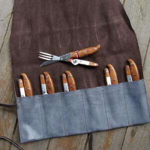 Кожаный чехол для инструментов ножей приборов на заказ